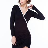 Holy Chic Piped Bodycon Dress