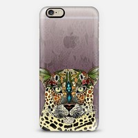 leopard queen tulips transparent phone case ~ get $10 off using code: 5A7DC3