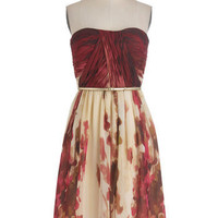 The Scenery at Sunset Dress