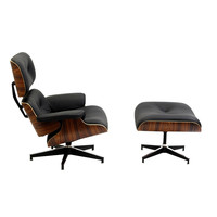 Eames Inspired Lounge Chair w/ Ottoman