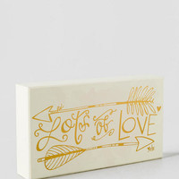 Lots Of Love Box Sign