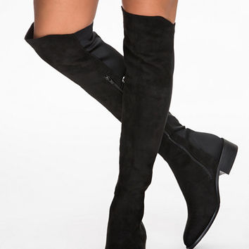 Flat Over Knee Boot, NLY Shoes
