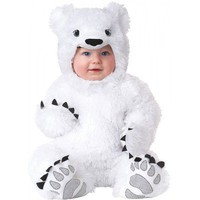Polar Bear Animal Planet Baby Infant Toddler Polar Bear Halloween Costume