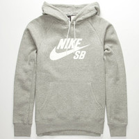 Nike Sb Icon Mens Hoodie Heather  In Sizes