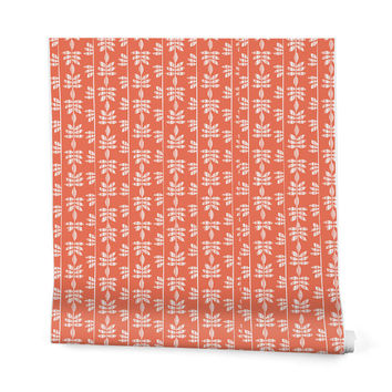 Heather Dutton Abadi Coral Wrapping Paper - 2' x 10' Roll