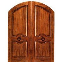 RS-1120 | Arched Rustic Doors | Entry Doors