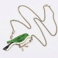 Woodpecker Fashion Necklace  | LilyFair Jewelry