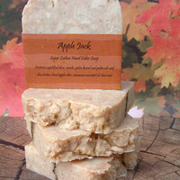 Apple Jack Apple Beer Handcrafted Soap All Natural Vegan Friendly