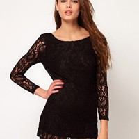 Motel Lace Dress at asos.com
