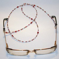 Candy Cane Eyeglass Chain Eyewear Lanyard Eyeglass Holder