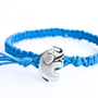 Elephant Hemp Bracelet Friendship Blue