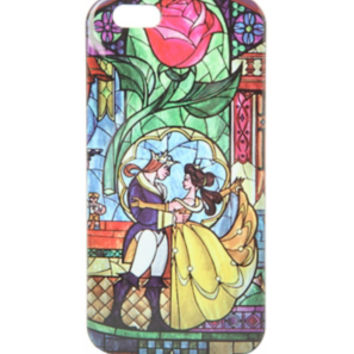 Disney Beauty And The Beast Stained Glass iPhone 6 Case