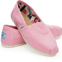 PINK ICING CANVAS WOMEN'S CLASSICS
