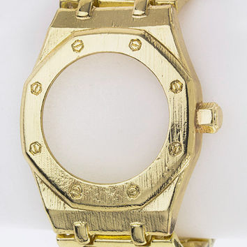 Time Don't Matter Bracelet - Gold
