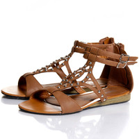 Poppy Studded Roman Sandal