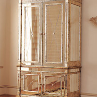 Mirrored Armoire - Horchow