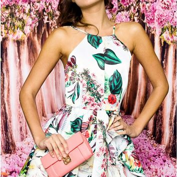 Tropical Abstract Dress