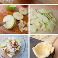 Inside out apple pies in Recipes for babies, children and adults parties, such as birthdays, celebrations, anniversaries or dinners