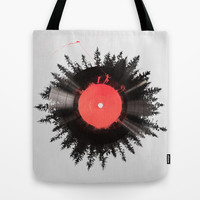 The vinyl of my life Tote Bag by Robert Farkas