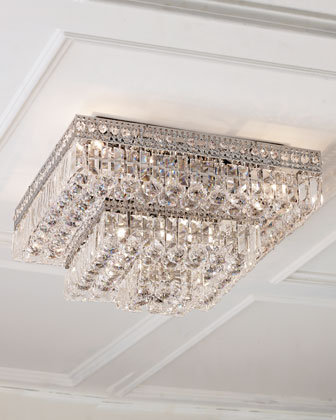 Crystal Ceiling Fixtures - Horchow