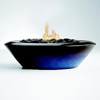 Ceramic fire bowl at RedEnvelope.com