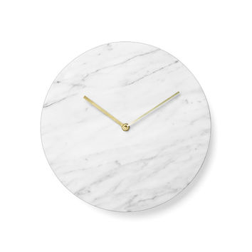 Timeless Marble Clock