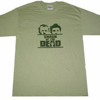 Shaun of the Dead Shirt - Dawn of the Dead Style (Youth and Adult Sizes Available) Zombie Gift For Him