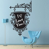 Vinyl Wall Chalkboard Decal Sticker Art by wordybirdstudios