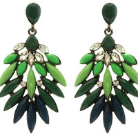 Diana Green Shourouk Earrings