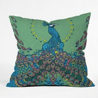 DENY Designs Home Accessories | Geronimo Studio Peacock 1 Throw Pillow