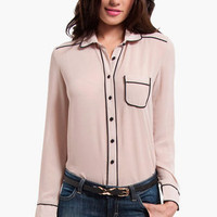 Passing Lines Blouse $33
