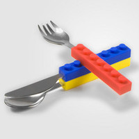 Snack &amp; Stack Utensil Set