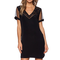 Rebecca Minkoff Lorelei Dress in Black