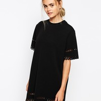 The Laden Showroom X Meekat Laser Cut Tunic Dress