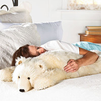 Bear Hug Body Pillow, Bear Body Pillow - Wind & Weather