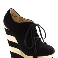 The Fame Game Wedge | Mod Retro Vintage Wedges | ModCloth.com
