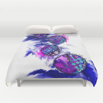 We are the dreamers of dreams Duvet Cover by Artful Sprinkles