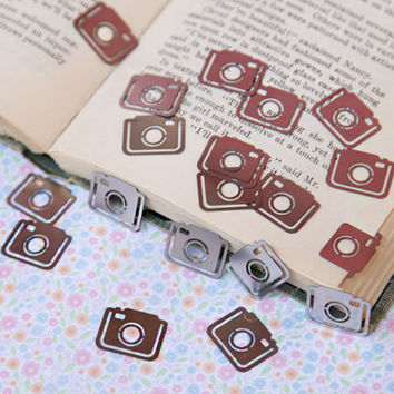 Clatter camera bookmark clips - $12.99 : ShopRuche.com, Vintage Inspired Clothing, Affordable Clothes, Eco friendly Fashion