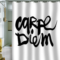 DENY Designs Home Accessories | Kal Barteski Carpe Diem Shower Curtain
