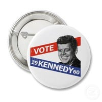 JFK Kennedy Election Pins from Zazzle.com