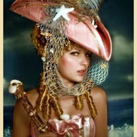 The Rianna  Seafaring Pirate Hat  Tricorn  As by topsyturvydesign