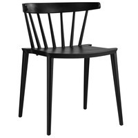 Spindle Side Chair - Black