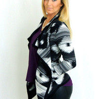 Rodeo'in Around Black and White Sweater -  $45.00 | Daily Chic Tops | International Shipping