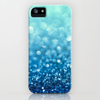 Tell Me True...Ocean Blue iPhone Case by Lisa Argyropoulos | Society6