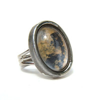 Vintage Adjustable Grunge Ring   1990s by MadisonStreetVintage