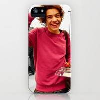 Harry Styles One Direction Box Of Cherries iPhone Case by Toni Miller | Society6