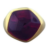 1STDIBS.COM Jewelry & Watches - Pomellato - POMELLATO Gold Garnet Ring - OakGem