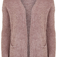 Boucle Knitted Cardigan - Topshop