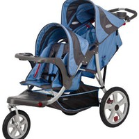 InStep Safari Double Tandem Stroller (16-Inch, Blue) $279.99