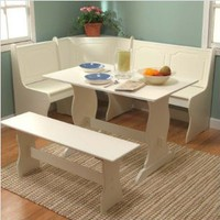 Target Marketing Systems 3-Piece Nook Dining Set